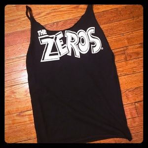 Vintage The Zeros Rock Tee